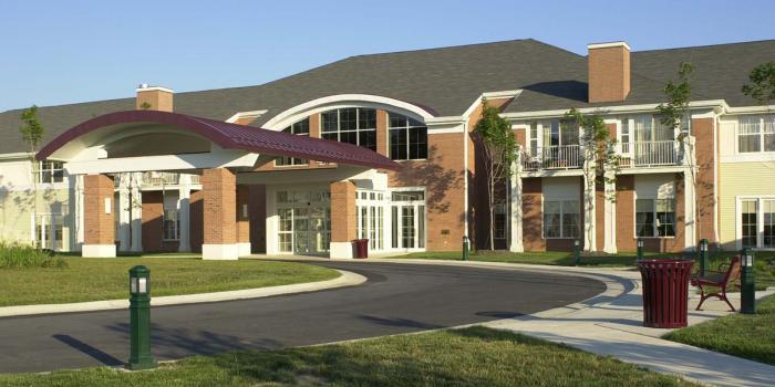 Senior housing yestadt architecture for Buckingham choice floor plans