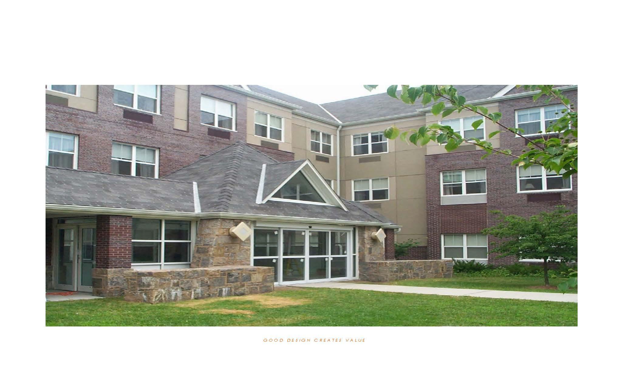 Senior housing yestadt architecture for Seniors house