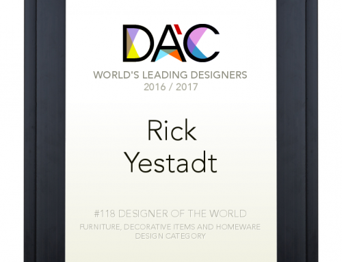 Rick Yestadt named one of the World's Leading Designers
