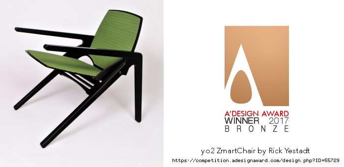 Y. O2 ZmartChair with Cushions - Award